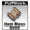 UO Item Bless Deed